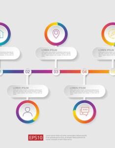 Demo also steps infographic flowchart design template vector premium download rh freepik