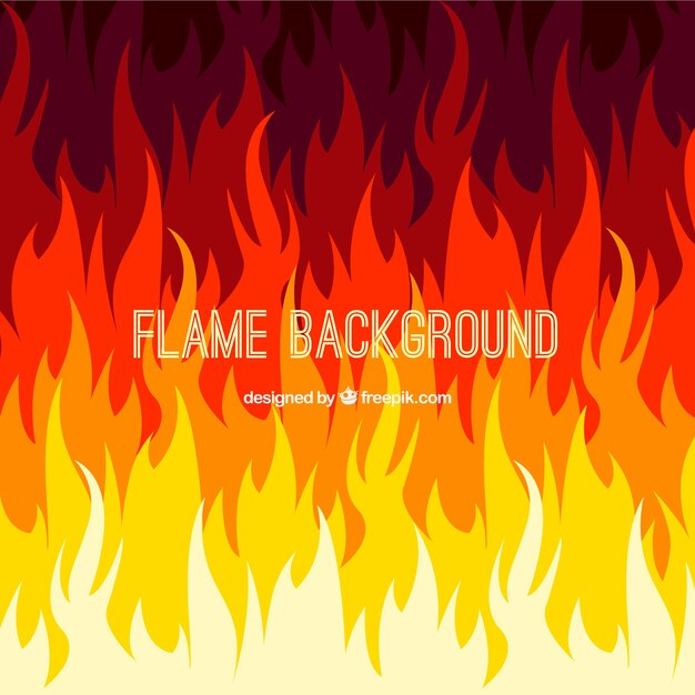 abstract flames background vector