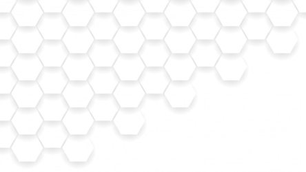Premium Vector Abstract hexagon shapes composition white and gray color background