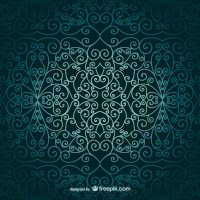 Arabic ornamental wallpaper Vector | Free Download