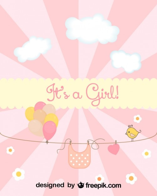 Pink Baby Shower Invitation Templates