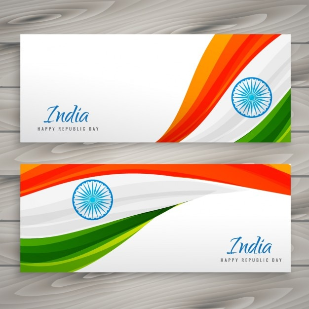 banners of india republic