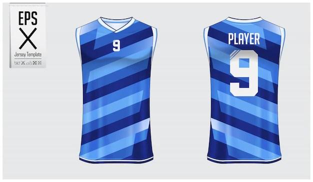 Download Basketball jersey template design Vector   Premium Download