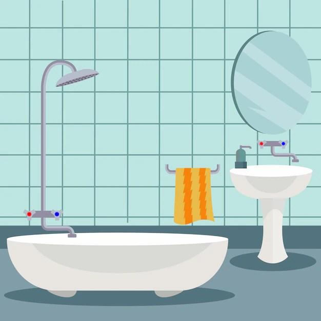 Bathroom Background Design Vector  Free Download