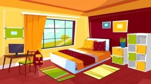 Room Background Illustration