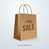 Big sale bag Vector | Free Download