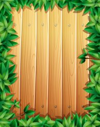 wooden border wall vector leaves wood background frame madeira clipart vectors sign boards graphic ago months resources pattern freepik