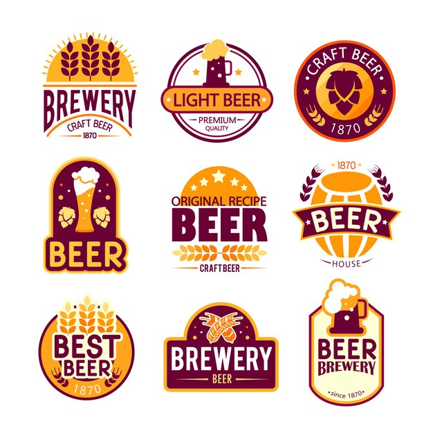 brewery logos and emblems
