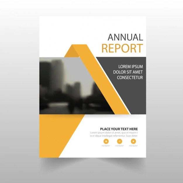 Brochure Template Design Vector Free Download