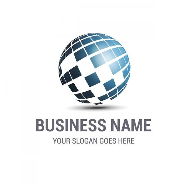 Business logo design Vector  Free Download