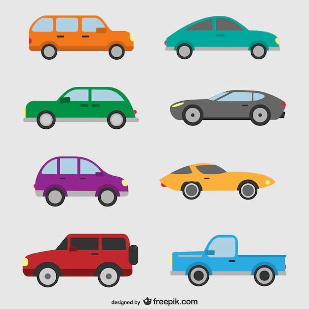 cars set vector free