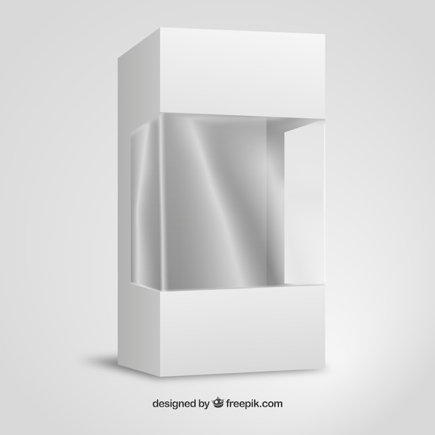 Carton And Plastic Packaging Mockup Vector Free Download