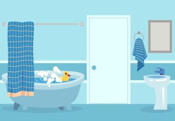 Bathroom Cartoon Images Free Vectors Stock Photos & PSD