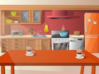 Premium Vector Cartoon illustration of kitchen