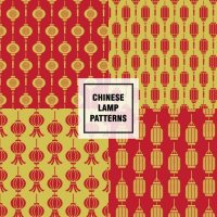 Chinese lamps patterns Vector | Free Download