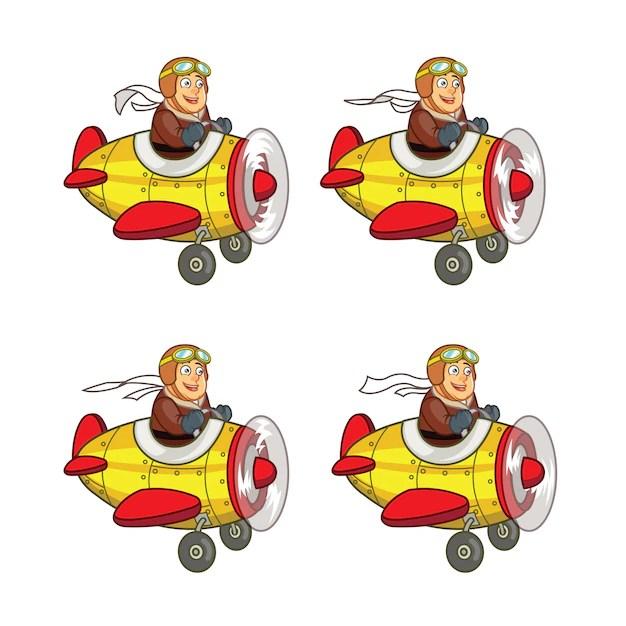 chubby pilot flying air