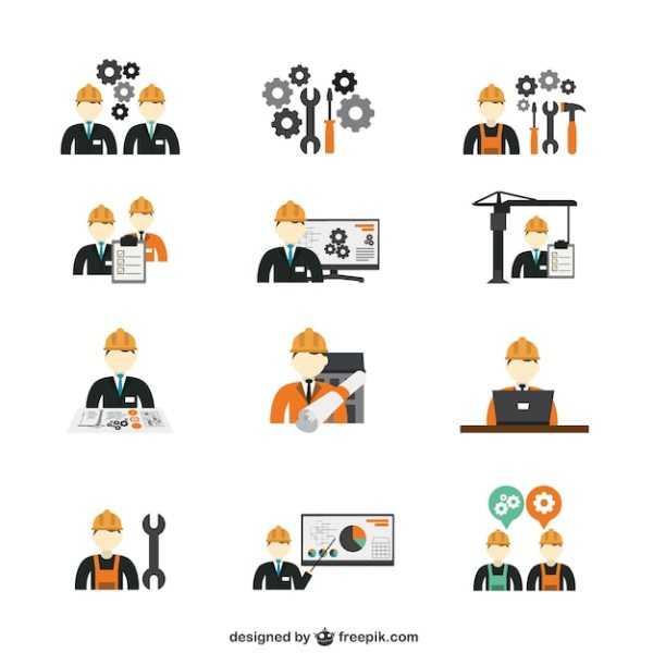 Industrial Engineering Vectors Photos and PSD files