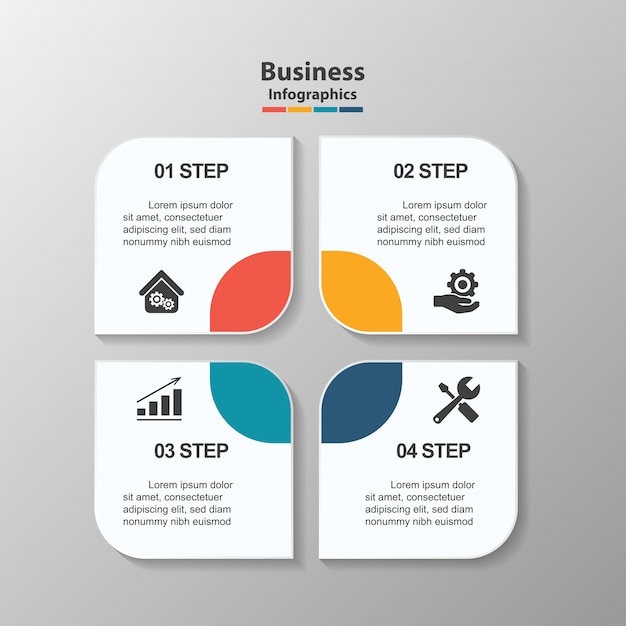 creative infographic design template