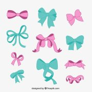 bow vectors and psd files