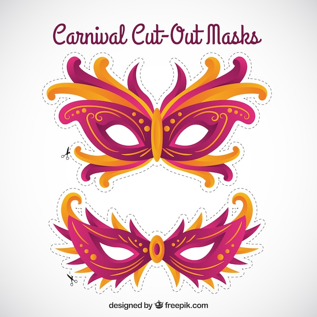 cute carnival cut out