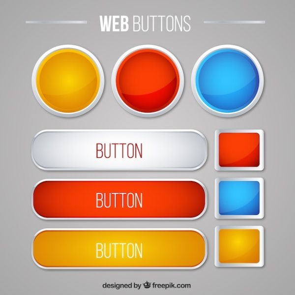 Button Vectors Photos and PSD files Free Download