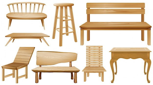 wooden chairs pictures posture in chair at the computer different designs of vector free download demo 24