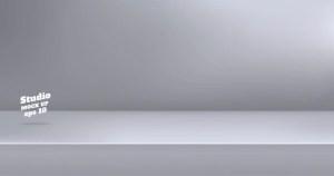 background table empty grey studio modern vector premium spot
