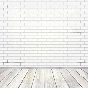 brick empty background wall vector premium wooden floor interior