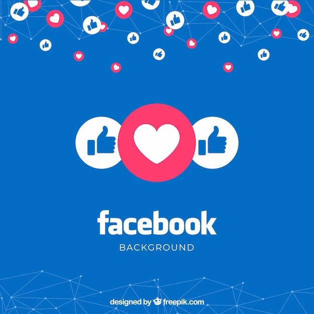 facebook background with likes
