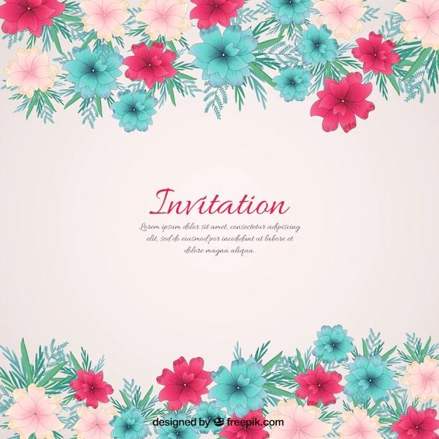 Fl Invitation Free Vector