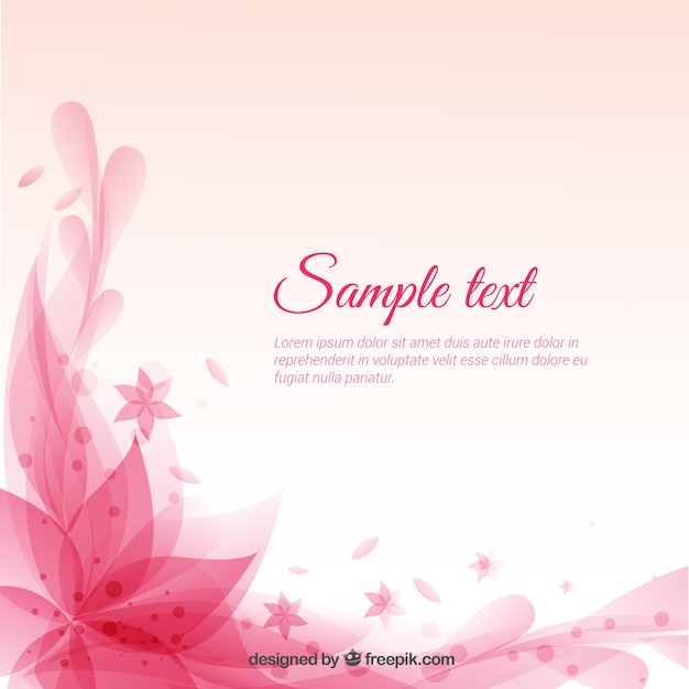 Abstract Light Pink Heart Background
