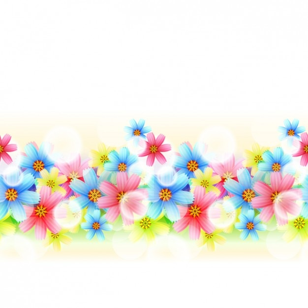 Flower power background Vector  Free Download