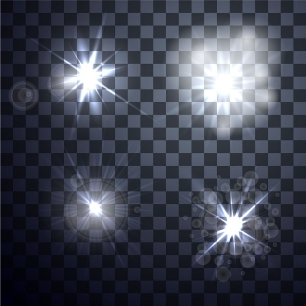 four lights vector free