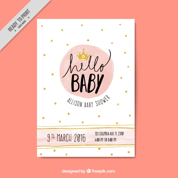 Yellow And Green Baby Shower