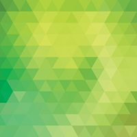Green polygonal background design Vector | Free Download