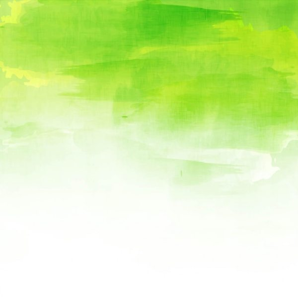 Green watercolor background design Vector Free Download