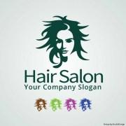 hair salon logo vector free