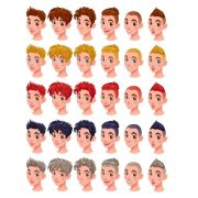 hairstyles cartoon characters