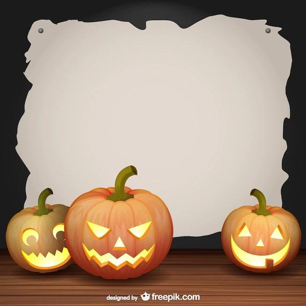 halloween frame vector vector