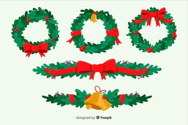 wreath template free svg # 59