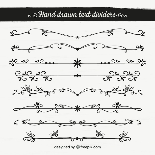download vector hand drawn