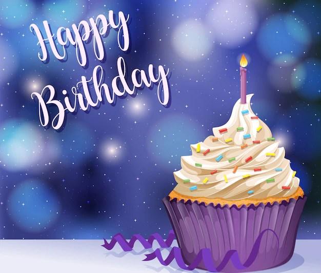 Free Vector Happy Birthday Card
