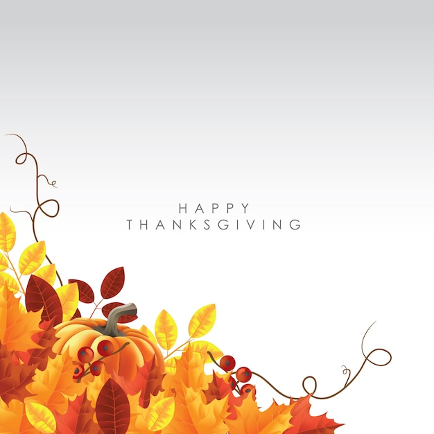 Fall Harvest Wallpaper Christian Happy Thanksgiving Background Theme Vector Premium Download