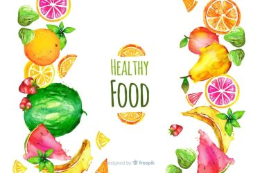 Free Vector Healthy food background