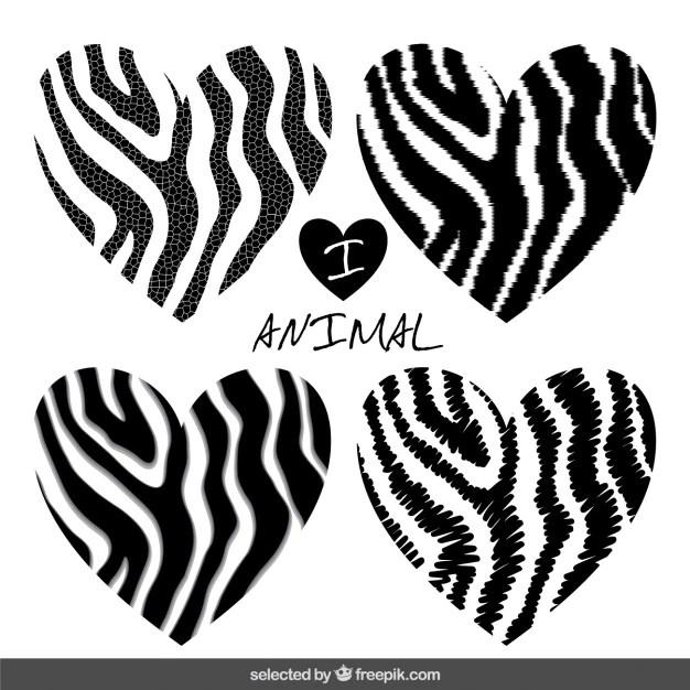 Download I love animal print Vector | Free Download