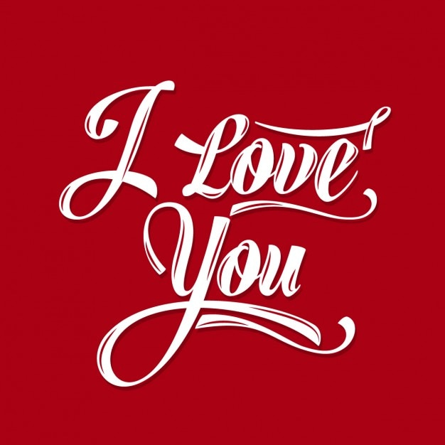 Download I love you red card Vector | Free Download