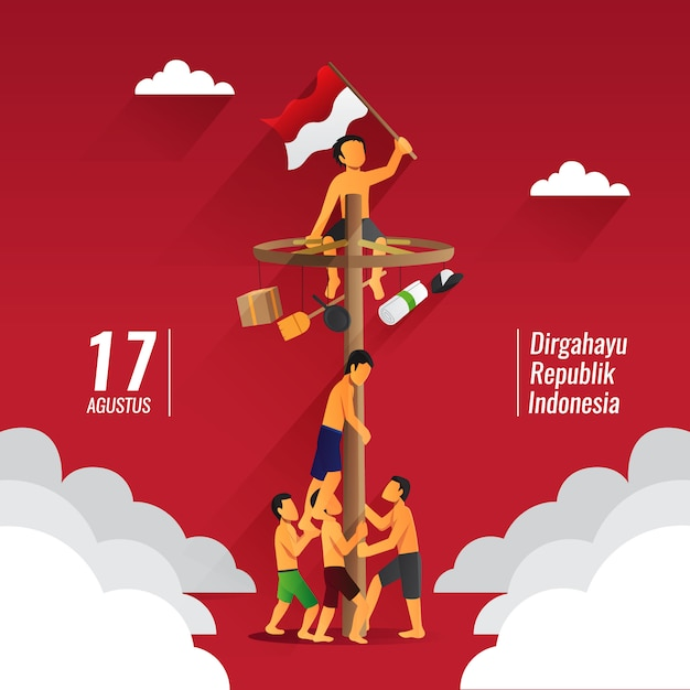 Indonesia Independence Day Images Free Vectors Stock Photos Psd