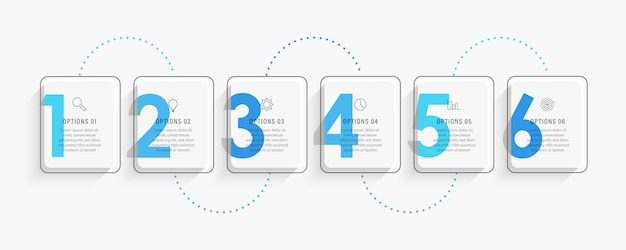 From basic handheld devices to those intended for industrial use, there are numerous units from which to choose. Premium Vector Infographic Label Design Template With Icons And 6 Options Or Steps