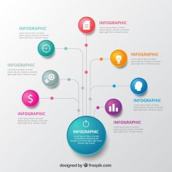 How To Do A Spider Diagram On Powerpoint Visual Studio 2013 Generate Class Infographic Template With Colorful Circles Vector | Free Download