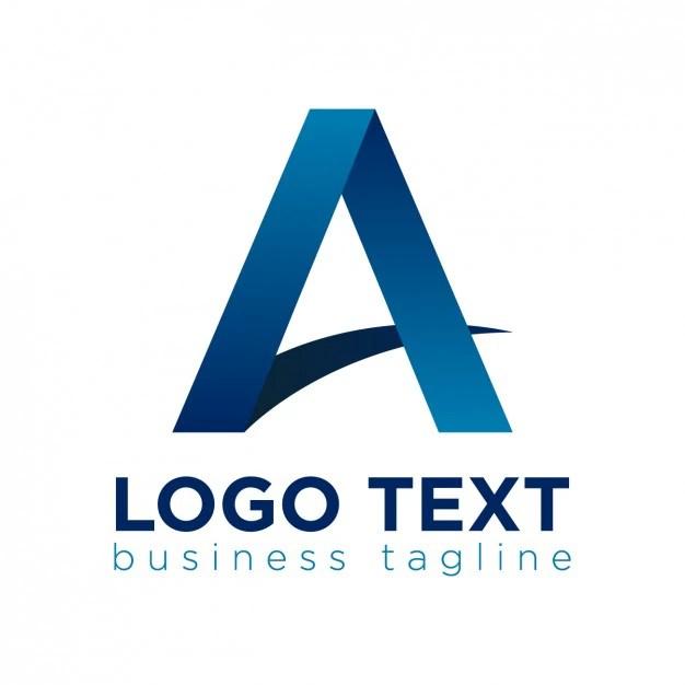 letter shape logo vector